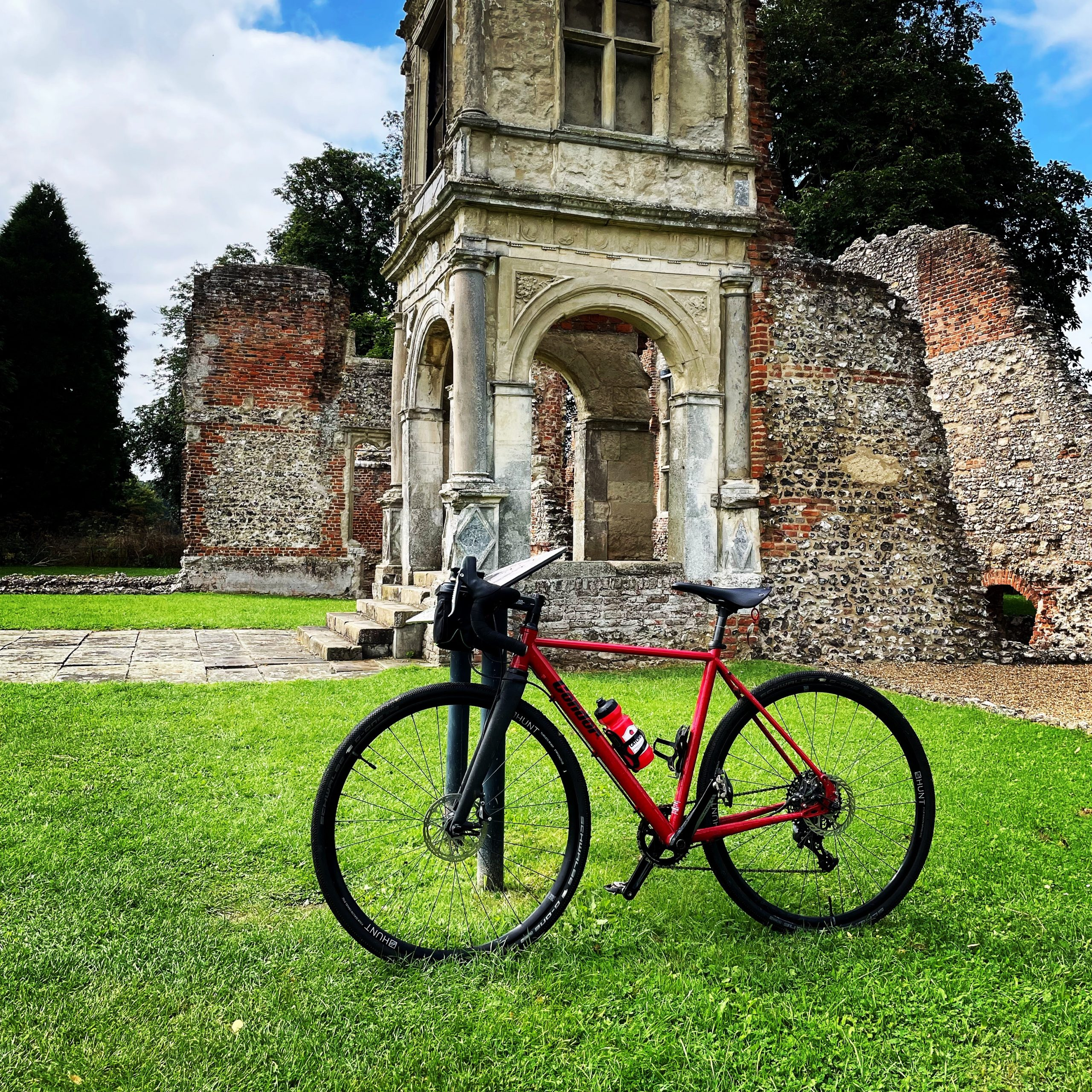 bike at Old Gorhambury